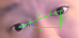 Head angle calculation